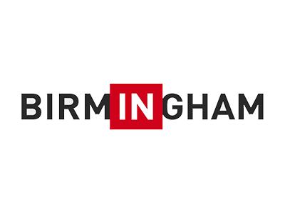 Logo for In Birmingham, a sponsor