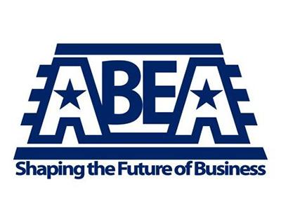 Logo for ABEA, a sponsor