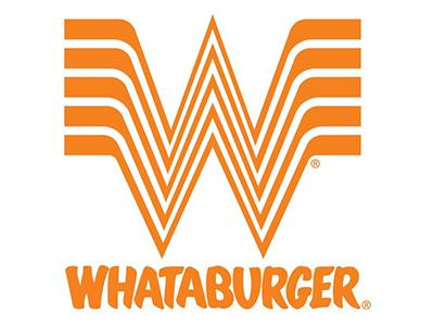 Logo for Whataburger, a sponsor