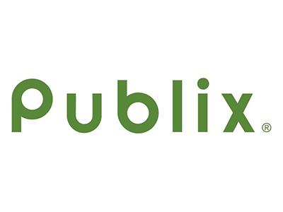 Logo for Publix, a sponsor