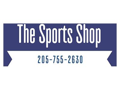 Logo for The Sports Shop, a sponsor